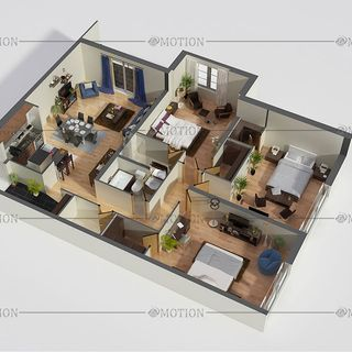 How 3d floor plan better to get an idea of the floor?