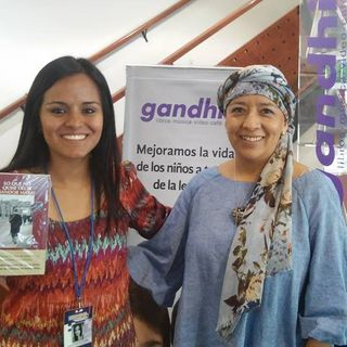 """Voz en Movimiento (20 JUL 2016) #gandhi - """"Libros, vida y reencuentro"""""""