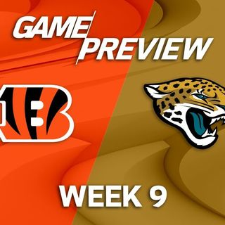 Cincinnati Bengals Weekly Show W/Joe Kelly: Bengals vs Jaguars Preview