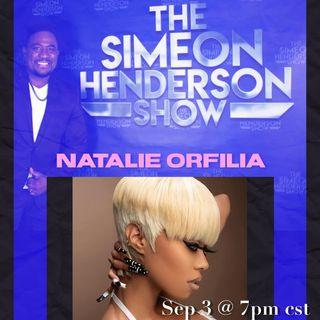 NATALIE ORFILIA/The Simeon Henderson Radio Show