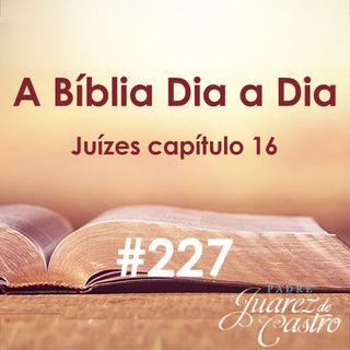 Curso Bíblico 227 - Juízes Capítulo 16 - Dalila e a captura de Sansão - Padre Juarez de Castro