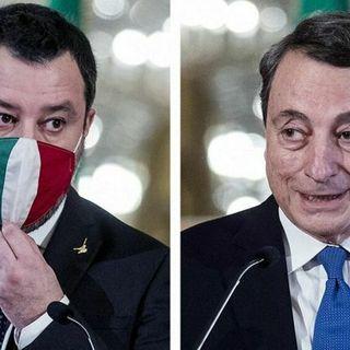 Ultime news Governo :Perchè Salvini appoggia Mario Draghi?