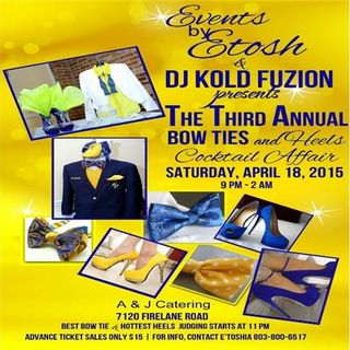 HoH LIVE @ the 3rd Annual Bow Tie and Heels Event