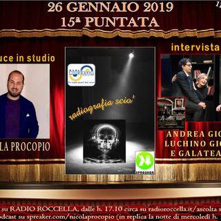 Radiografia Scio' - N.15 del 26-01-2019