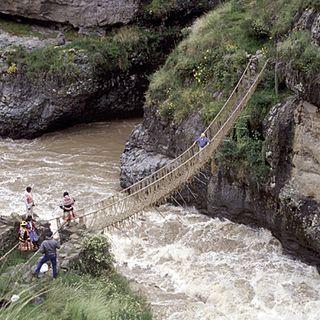 Ancient Rope Bridges