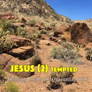 Jesus (2) tempted (Thinking Inside the Quarantine #38)