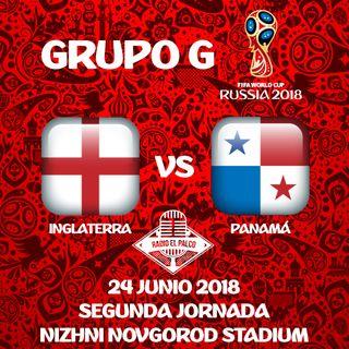 Inglaterra vs Panamá en VIVO