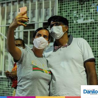 Danilo diz que o governo dele vai continuar cuidando de gente
