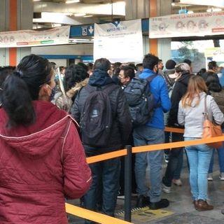 Ayer retrasos de hasta 30 minutos en líneas 2 y 3 del Metro de CDMX