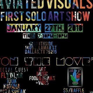 THE PLATFORM:AVIATED VISUALS FIRST SOLO ART SHOW