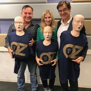 Bob & Christine Cafe: We Welcome Dr. Oz!