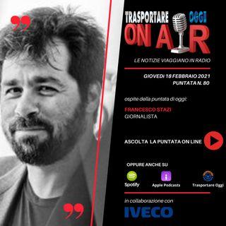 Puntata 80/2021 del 18 febbraio - Ospite: Francesco Stazi (giornalista) - Il mercato dei van