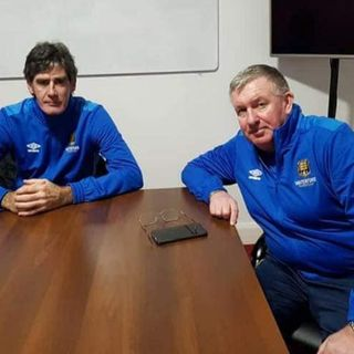 New Waterford FC Manager Kevin Sheedy and his assistant Mike Newell chat to Matt Keane (PART ONE, ON THE BALL 18 01 2021)