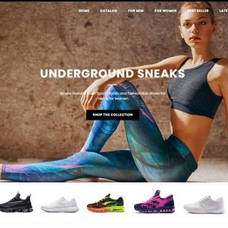 Underground Sneaks - Athletic sneaker store for men and women