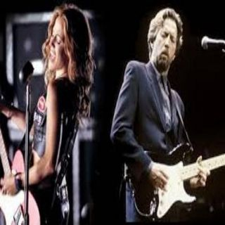 Cheryl Crow and Eric Clapton- Mery christmas baby