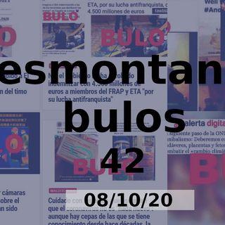 Desmontando bulos 42 (08/10/20)