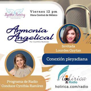 Armonía Angelical Conexión Pleyadiana