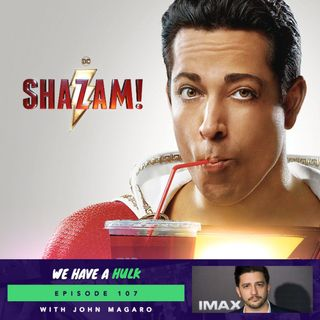 Shazam! spoiler free review and Interview with the Umbrella Academy's John Magaro