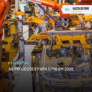 Editorial: As projeções para o PIB em 2020