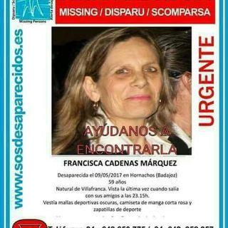 Desaparecidos: Francisca Cadenas