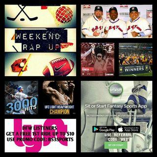 Weekend Rap Up Ep. 43: Jon Bones Jones is BACK!!!