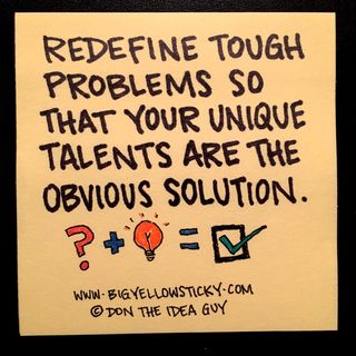 Redefine Problems : BYS 013