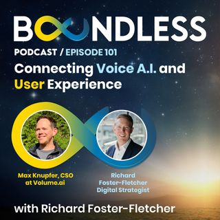 EP101: Max Knupfer, CSO at Volume.ai: Connecting Voice, AI and User Experience