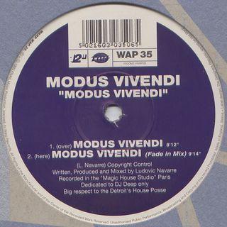 Modus Vivendi - Modus Vivendi (Fade In Mix)