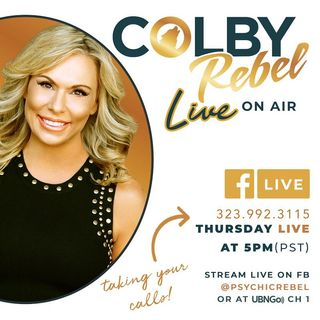 Colby Rebel is back for another Date Night as she does LIVE readings on Air!