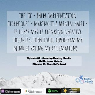 Creating Healthy Habits with Christian Adleta