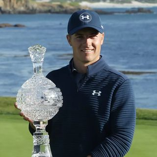 Jordan Spieth Dominates Pebble Beach