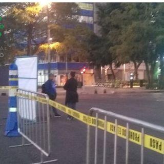 Cierres vehiculares en Reforma por maratón