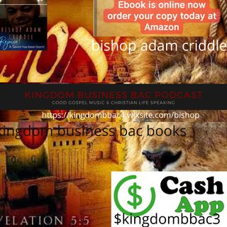 bishop adam criddle / cash app $kingdombbac3