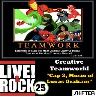 LnR 25: Lucas Graham, Captain America 3, & Creative Teamwork