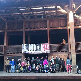 14 Aprile: occupazione del Globe Theatre