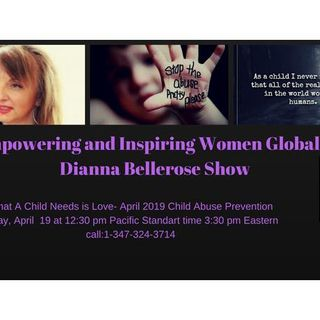 Empowering and Inspiring Women Globally- April Child Abuse Prevention Month