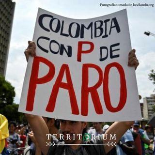 Colombia con P de paro
