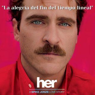 """Celebración de la iluminación """"La alegría del fin del tiempo lineal"""". Sesión de cine """"Her"""" con David Hoffmesiter"""