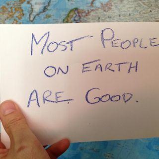 Tegan McDonald- This I Believe: There is Good in Everyone.