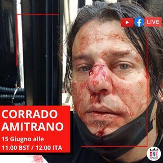 """Corrado Amitrano: Non mi hanno pestato i """"Black lives Matter"""""""