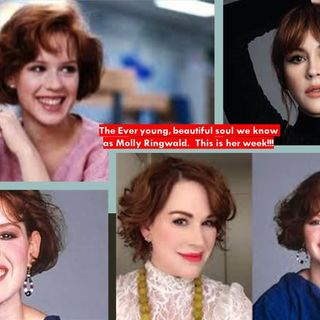 Molly Ringwald:  An 80's Muse