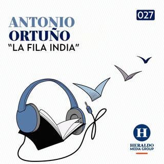Crisis Migratoria | El Podcast Literario: La Fila India de Antonio Ortuño sobre la violencia contra migrantes