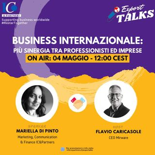 Export Talks – Business Internazionale
