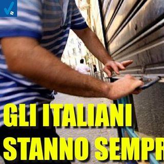 Altro che ripresa, gli italiani stanno sempre peggio