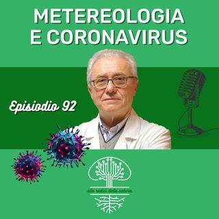 Meteorologia e diffusione del Coronavirus