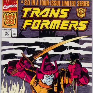 """Unspoken Issues #26 - """"Transformers"""" #80"""