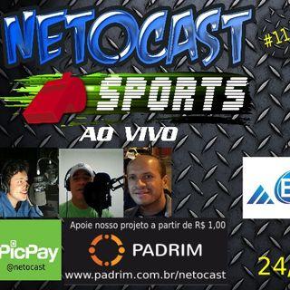 NETOCAST 1143 DE 24/04/2019 - ESPORTES - FUTEBOL - TÊNIS - UFC