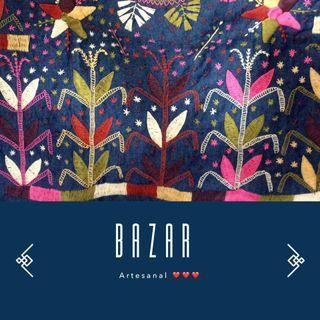 Se parte del  Bazar Artesanal.