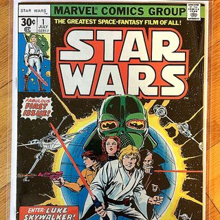Episode 012 - Star Wars No. 1, July 1977, Marvel Comics Group