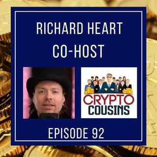 Todays Co-host Is Richard Heart - Hex Coin